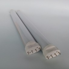 8W AC120V-230V 2G11 4 Pin LED Light Tube Replace Fluorescent Twin Long Tube CFL Bulb Dimmable