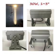 30W AC110-250V LED Floodlight Spot Project Lamp Narrow Beam Facade Wall Dcoration Lighting IP65