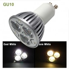 3W AC110V-AC230V GU10 Base LED Spot light Bulb Lamp Cool White/Warm White For Home Lighting Dimmable