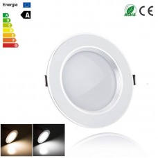 3W/5W/7W AC 110W/230V Ultra Slim Diffuse LED White Recessed Downlight Ceiling Light Dimmable