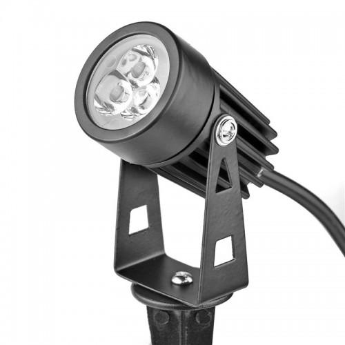 Outdoor Lighting Spotlights For Home Mini Microscope: 3W AC110V AC130V Mini LED Lawn Light Spot Lamp Garden