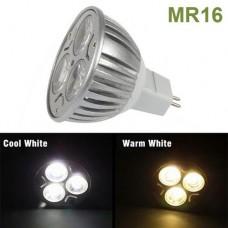 3W DC12V MR16 Base LED Spot light Bulb Lamp Cool White/Warm White For Home Shop Showcase Lighting