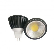 5W 12V low voltage MR16 Base COB LED Spotlight Spot Lamp Bulb Light Cool White 6000K Dimmable Special Offer