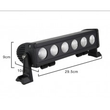 60watt cree led auxiliary work light offroad driving light bar for Quads ATV Motocycle 4x4 12v 24v IP67