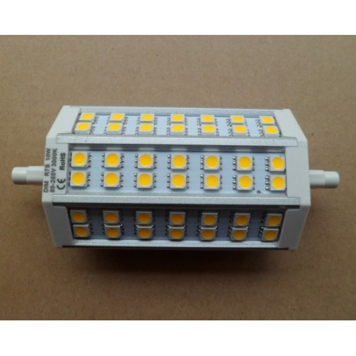 10W 118mm SMD5050 LED R7s Double Ended Lamp Light replace Floodlight Wall Lamp Halogen bulb warm ...