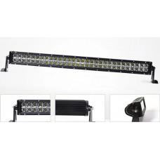 180w double row Epistar/Cree led offroad light bar auxiliary driving light Jeep ATV 12v 24v IP67