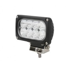 40W Rectangle Cree led Auxiliary Lamp Work Light Truck Engineering Automobile Vehicle 12V 24V IP67