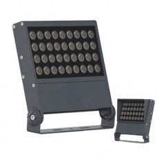 36W single color 48W color changing DMX512 RGB RGBW Low Profile LED Floodlight Outdoor Tree Building Lighting