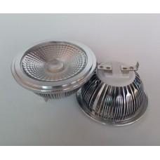 12w/15w AR111 G53 /ES111 GU10 COB LED Retrofit Light Bulb Replace Halogen Reflector Spot dimmable 25 degrees