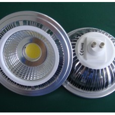 7W AR111 GU10/G53 COB LED Light Bulb Spotlight Downlight Aluminum Reflector replace Halogen dimmable
