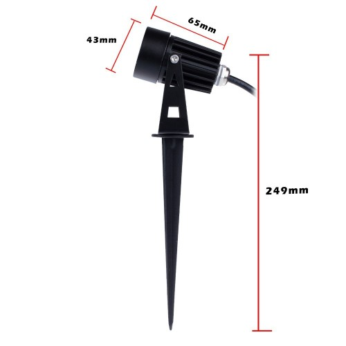 Outdoor Lighting Spotlights For Home Mini Microscope: 3watt Mini Led Landscape Garden Lawn Light Spot Lamp