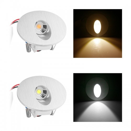Led recessed lighting basement : W ac v round square led recessed wall lamp path